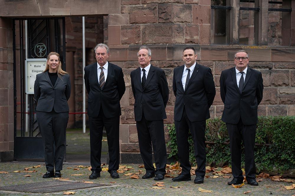 Unser Team | Schweitzer Bestattungen