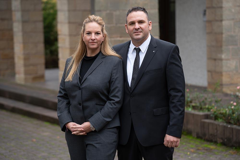 Heidi Schweitzer und Frank Schweitzer | Schweitzer Bestattungen
